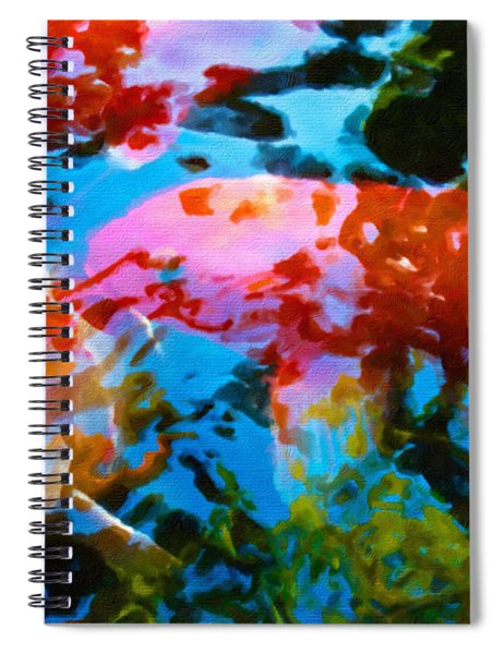 Koi Fish Spiral Notebook