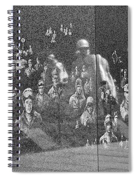 Korean War Veterans Memorial Spiral Notebook