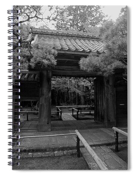 Koto-in Zen Temple Entrance - Kyoto Japan Spiral Notebook