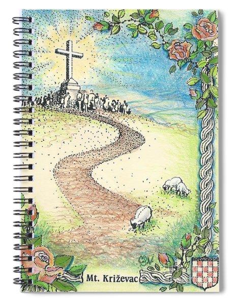 Krizevac - Cross Mountain Spiral Notebook