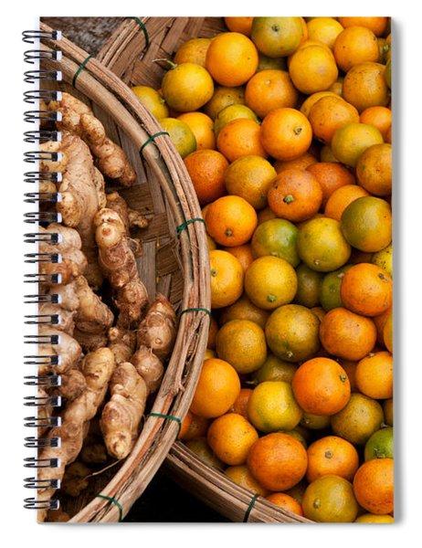Kumquats And Ginger Spiral Notebook