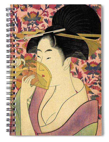 Kushi Woman Spiral Notebook