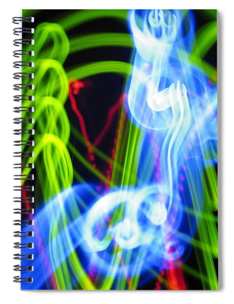 L E D Painting 0252 Spiral Notebook