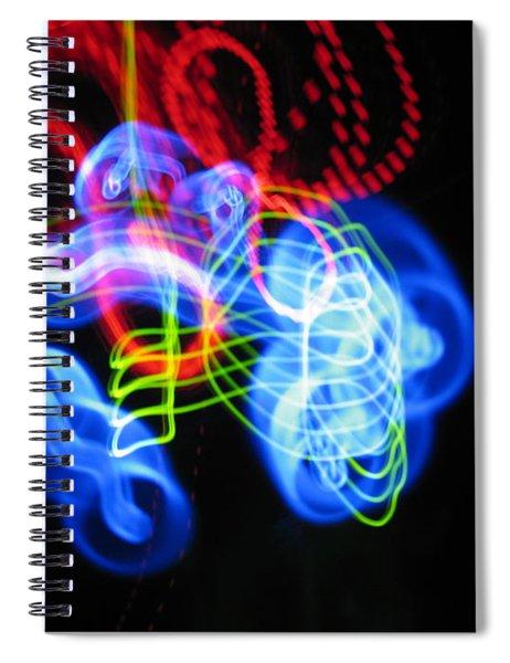 L E D Painting 0255 Spiral Notebook