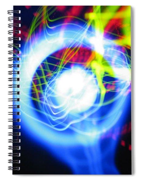 L E D Painting 0256 Spiral Notebook