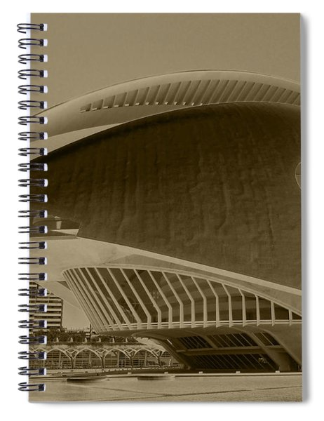 L' Hemisferic - Valencia Spiral Notebook