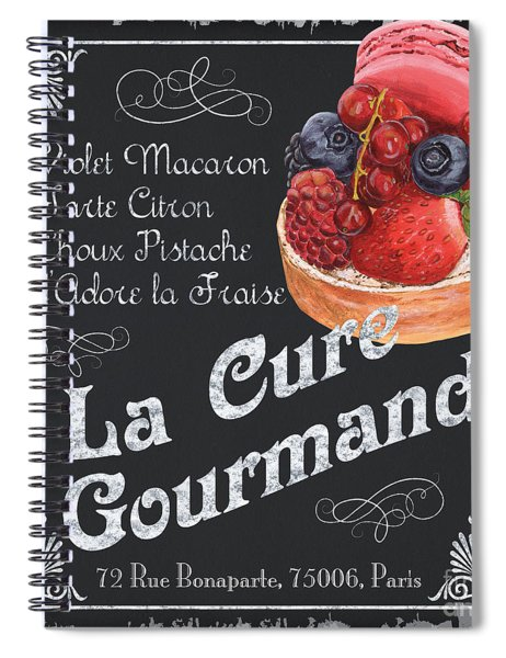 La Cure Gourmande Spiral Notebook