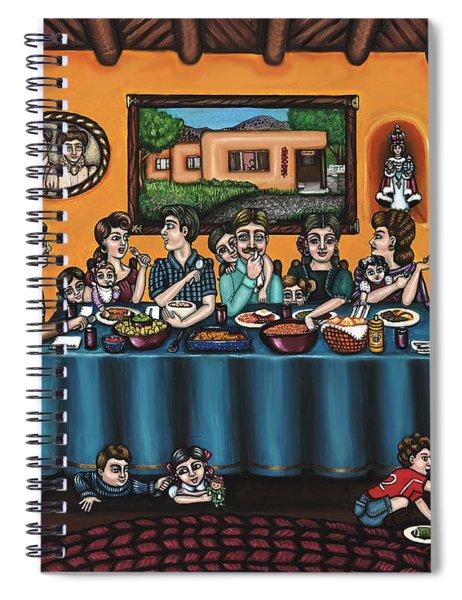 La Familia Or The Family Spiral Notebook