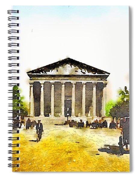 La Madeleine 1890 Spiral Notebook