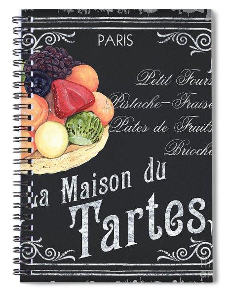 La Maison Du Tartes Spiral Notebook