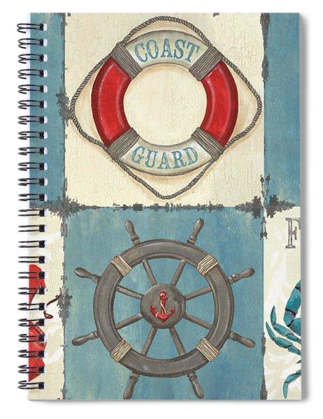 La Mer Collage Spiral Notebook