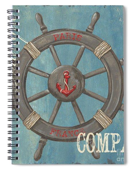 La Mer Compas Spiral Notebook