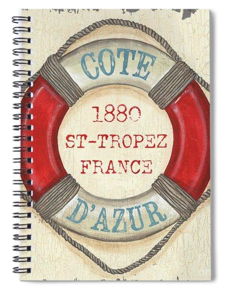 La Mer Cote D'azur Spiral Notebook