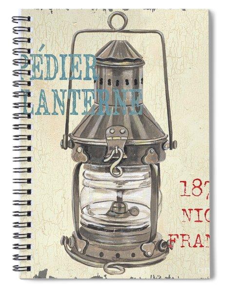 La Mer Lanterne Spiral Notebook
