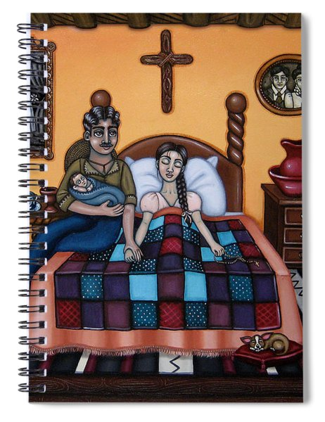 La Partera Or The Midwife Spiral Notebook