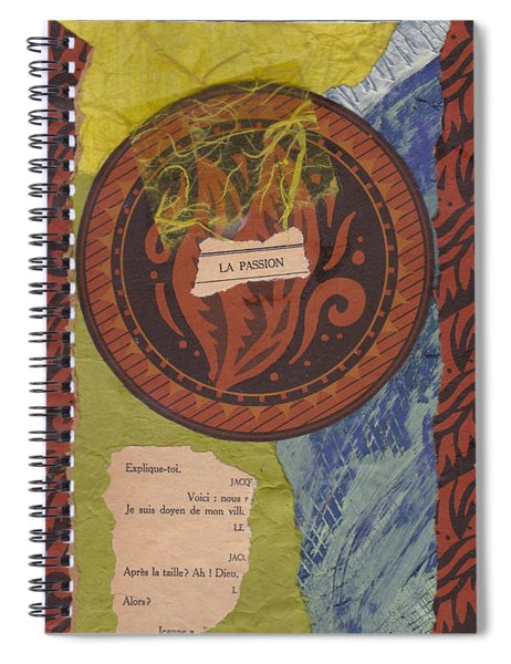 La Passion Spiral Notebook