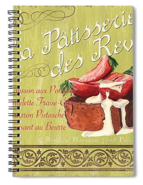 La Patisserie Des Reves 2 Spiral Notebook