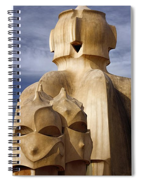 La Pedrera Rooftop Spiral Notebook