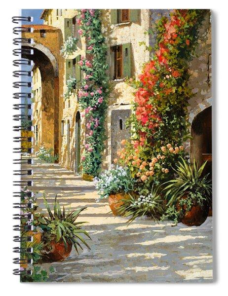 La Porta Rossa Sulla Salita Spiral Notebook