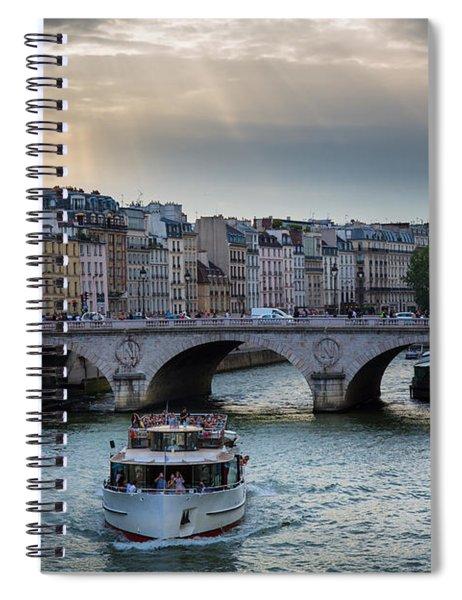 La Seine Spiral Notebook