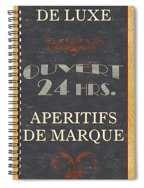 La Soupe Du Jour Spiral Notebook