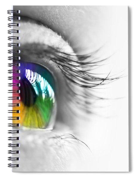 La Vie En Couleurs Spiral Notebook