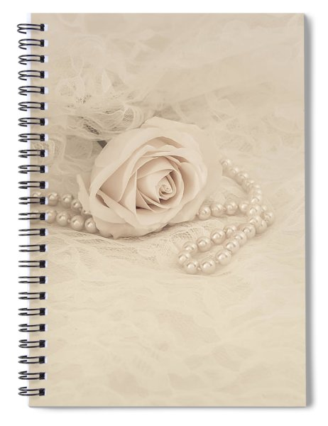 Lace And Promises Spiral Notebook