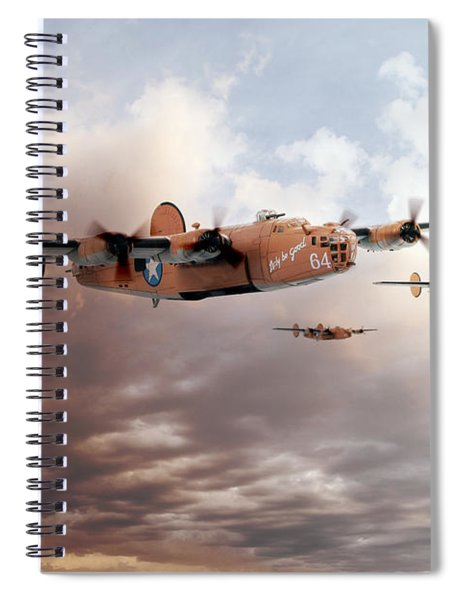 Lady Be Good Spiral Notebook