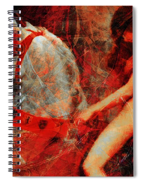Lady Godiva Revisited 20140315 Horizontal Spiral Notebook