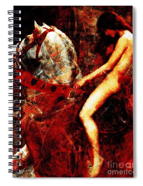Lady Godiva Revisited 20140315v2 Spiral Notebook