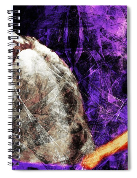 Lady Godiva Revisited 20140315v2c3 Horizontal Long Spiral Notebook