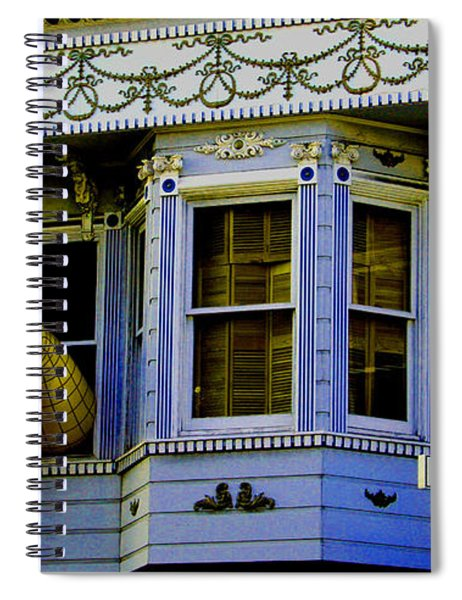 Lady In A Window Spiral Notebook