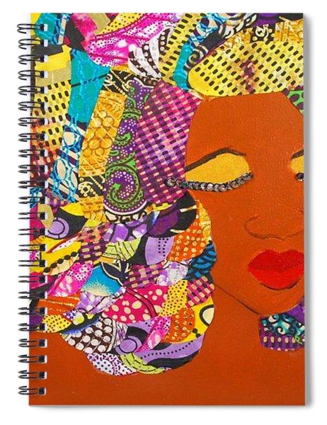 Lady J Spiral Notebook