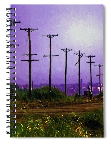 Lady Liberty Lost Spiral Notebook