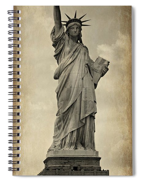 Lady Liberty No 11 Spiral Notebook