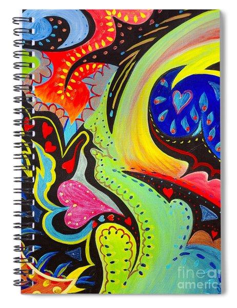 Lady Love Spiral Notebook