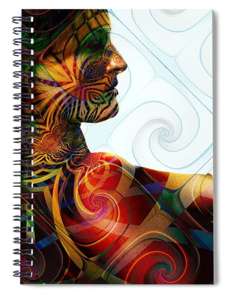 Lady Masquerade Spiral Notebook
