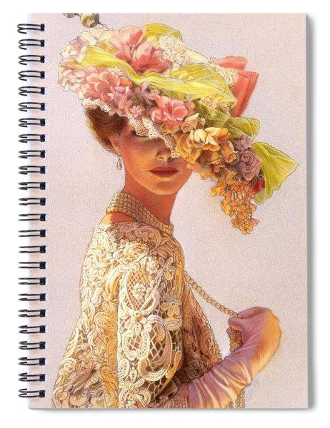 Lady Victoria Victorian Elegance Spiral Notebook