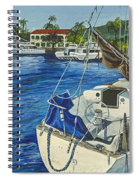 Lahaina Yacht Spiral Notebook