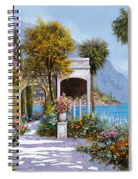 Lake Como-la Passeggiata Al Lago Spiral Notebook