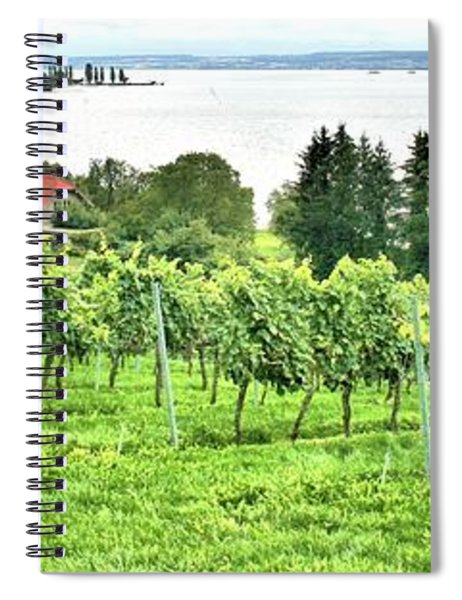 Lake Constance Spiral Notebook