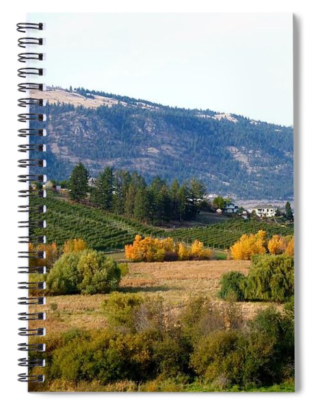 Lake Country Landscape Spiral Notebook