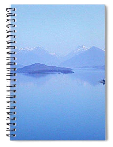Lake Glenorchy New Zealand Spiral Notebook
