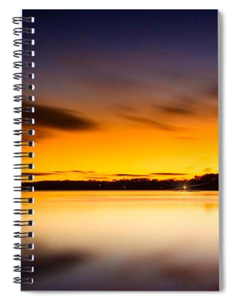 Lake Lanier Sunrise Spiral Notebook