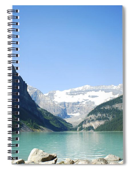 Lake Louise Alberta Canada Spiral Notebook
