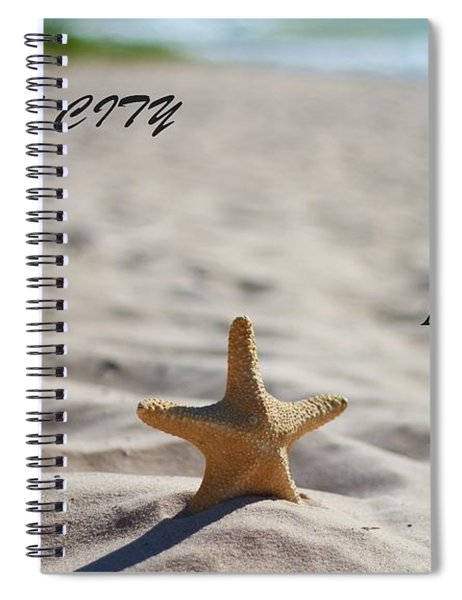 Lake Michigan Beach Traverse City Spiral Notebook