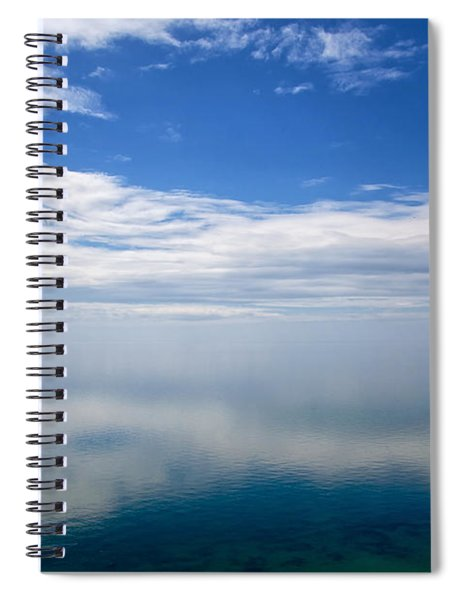 Lake Michigan's Lost Horizon Spiral Notebook