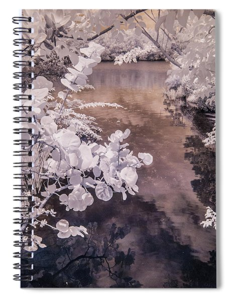 Lake Shadows Spiral Notebook