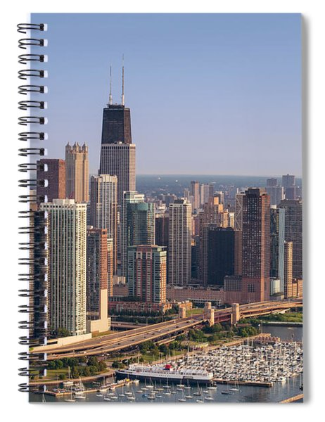 Lake Shore Drive Curve Chicago Spiral Notebook