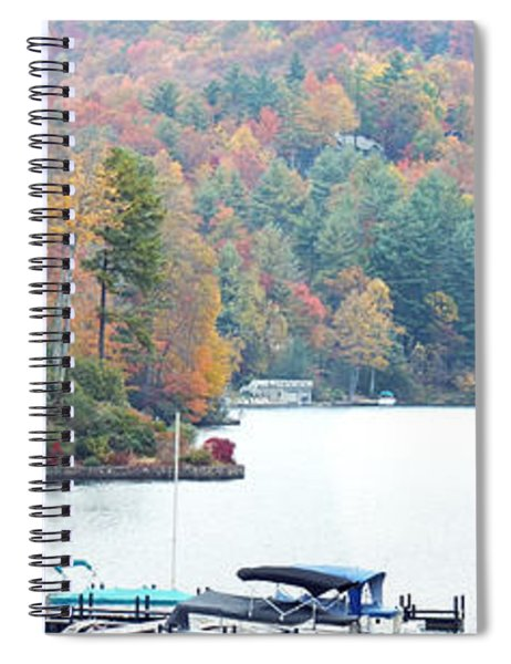 Lake Toxaway In The Fall Spiral Notebook